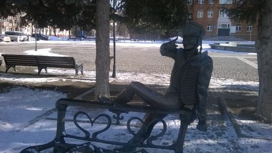 Monument to Lieutenant Rzhevskiy
