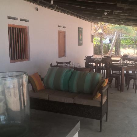 Southern Province, Sri Lanka: Restaurant area