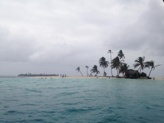 San Blas Islands, Panama: Llegando a Isla Pelicano