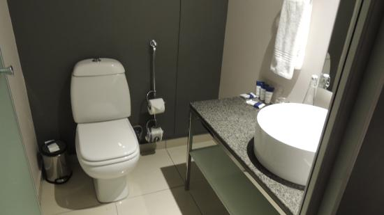 Protea Hotel by Marriott O.R. Tambo Airport Transit: THe toilet