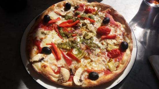 Pizza Express: Giardiniera Classic Pizza without red onion