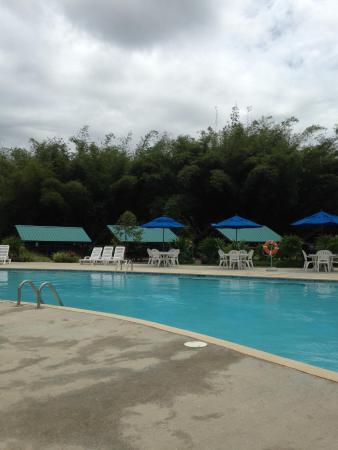 La Vega Garden Centre: Pool and cabanas