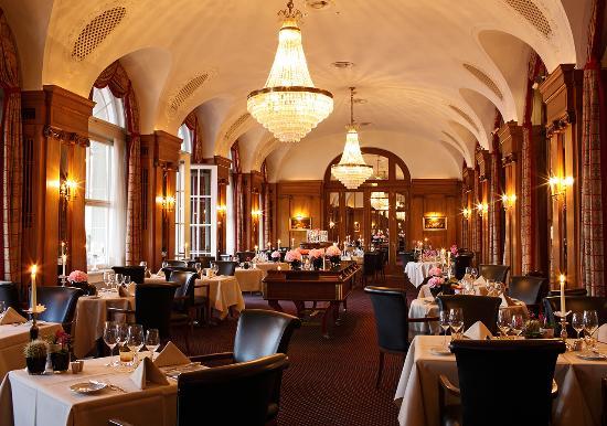 BELLEVUE PALACE Bern : Restaurant VUE