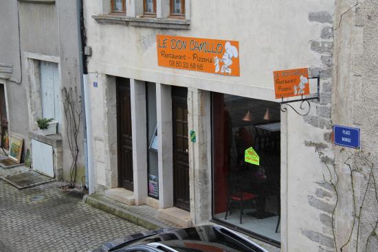 Nolay, France: close (to Hotel de la Halle), but no cigar.
