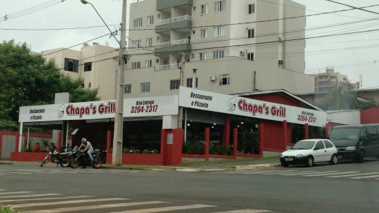 Medianeira, PR: Chapas Grill Restaurante e Pizzaria