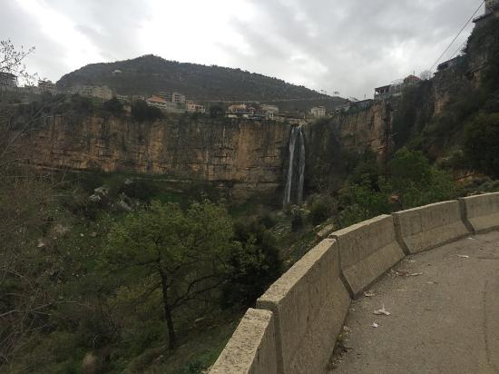 the road to jezzine waterfalll
