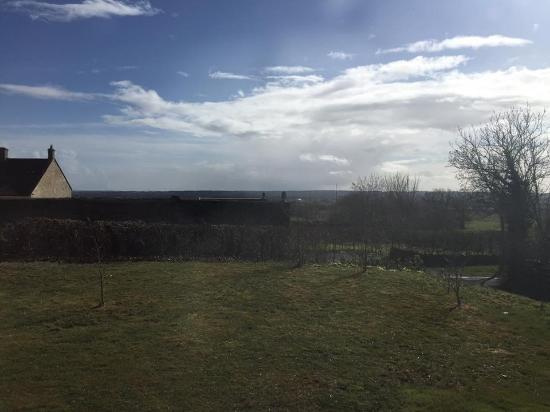 Wedmore, UK: View from the doorway.