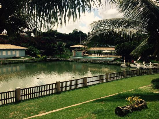 Conceicao do Almeida, BA: Vista do hotel