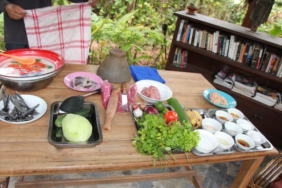 Muang La, Laos: Cours de cuisine
