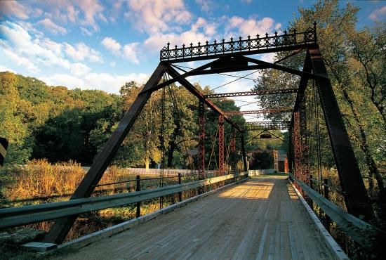 Preston, MN: Historic Forestville bridge