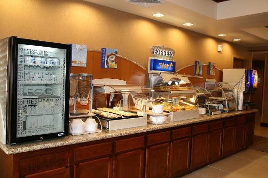 Willows, Kalifornia: Express Start Breakfast Bar