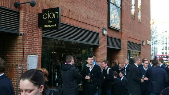 Nopeus dating Dion Lontoo