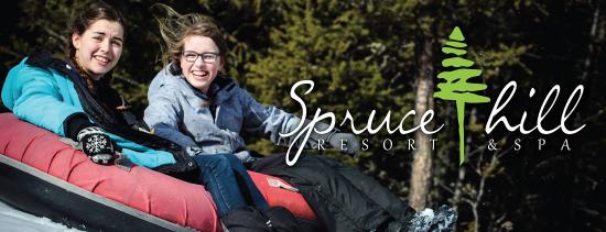 108 Mile Ranch, Kanada: Spruce Hill Resort & Spa