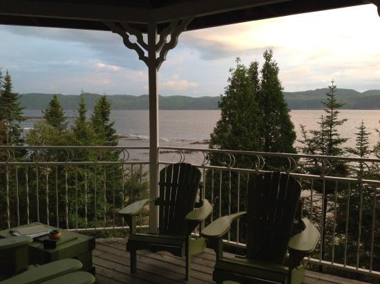 La Baie, Canadá: Terrasse