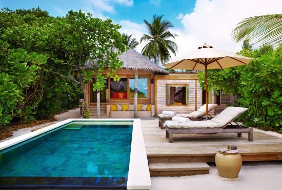 ซิกซ์ เซ็นเซส ลามู: Family Villa W-Pool Exterior
