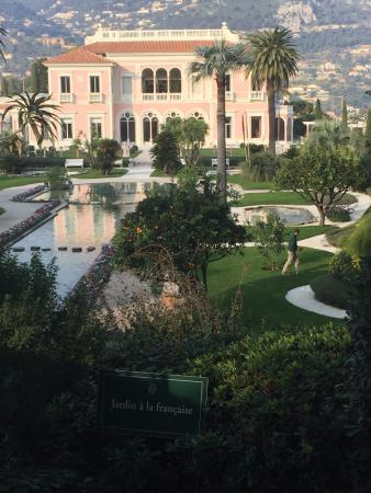 viewpoint from the gardens - Bild von Villa & Jardins Ephrussi de ...