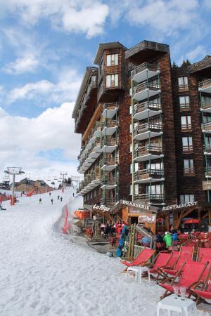 Avoriaz Ski Resort: Vue des pistes