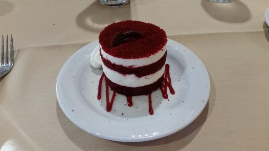 Heron's Glen: red velvet cake