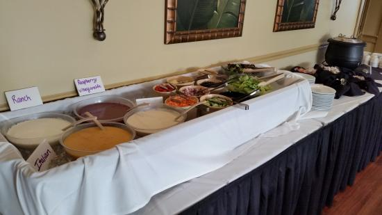 Heron's Glen: Soup & Salad Bar