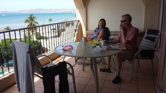 Las Gaviotas Resort: Balcony