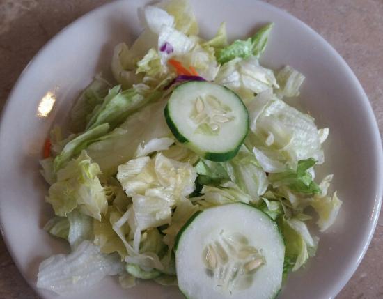 Fulton, MO: side salad