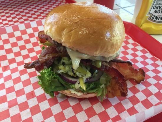 Beaumont, CA: Hamburger