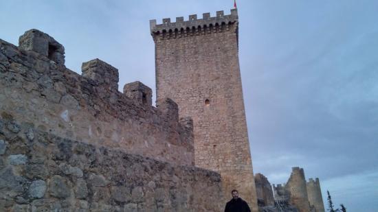 Penaranda de Duero, Spanyol: Vistas del interior del castillo
