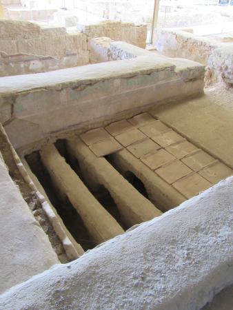 Almedinilla, İspanya: Système de chauffage par le sol