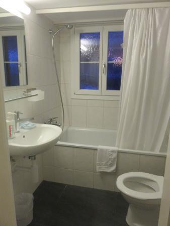 Hotel Silberhorn: Bathroom