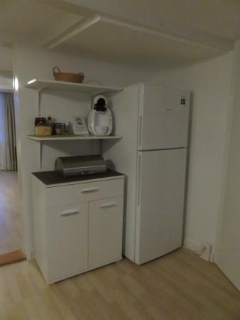 Hotel Silberhorn: Part of the kitchen