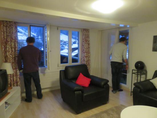 Hotel Silberhorn: Living room