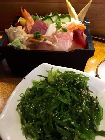Clayton, MO: Seaweed salad
