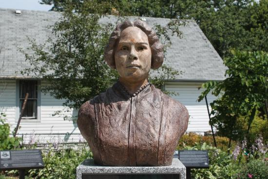 Chatham, Canada: Close Up bust of Mary Ann Shadd