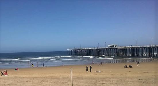 Penny S All American Cafe A View From The Boardwalk Of Pismo Beach Pier