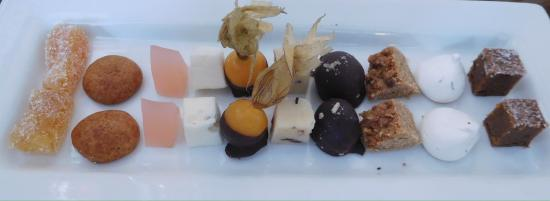 Beef 3 ways and the delicious petit fours