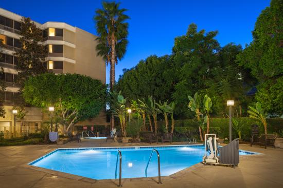 Our Pool at Fullerton Marriott at California State University is refreshing and relaxing.