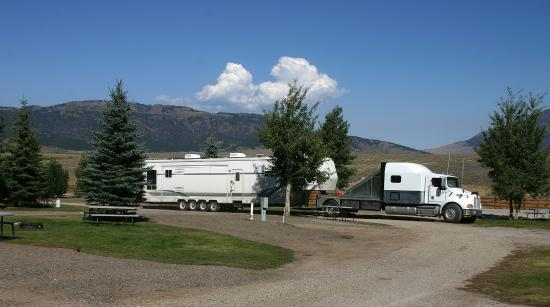 Island Park, ID: We have room for all size RVs.