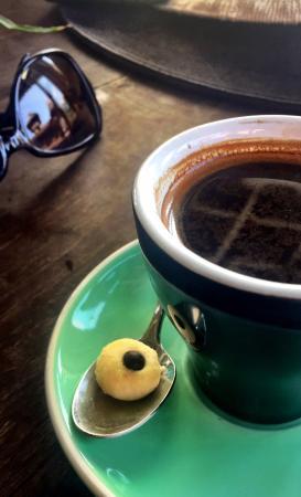 Watercress: Good, strong coffee