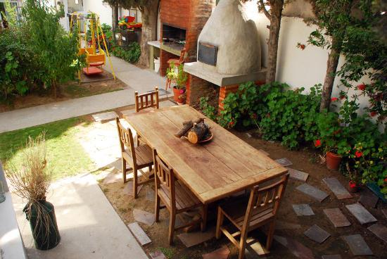 Casa de Mar Posada: En nuestro jardín...