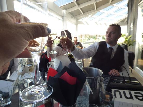 Caroline's Boatshed Bar and Eatery: Wedding celebration at the Boat shed