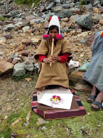 Mother Earth Private Day Tours : Blessing Ceremony Before our trek