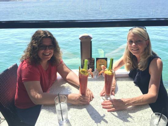 the seafood bloody mary s are excellent check it out picture of rh tripadvisor com