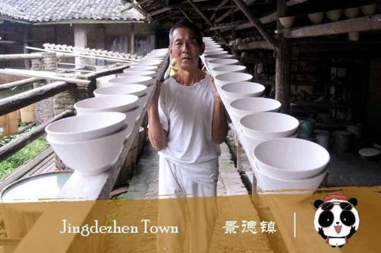 Jingdezhen, China: The bowl maker.