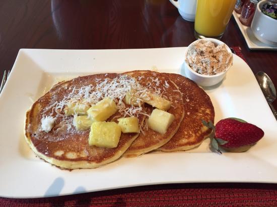 Islands Dining Room At Loews Royal Pacific Resort Pancakes