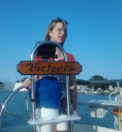 Summer Wind Charters: my daughter on board