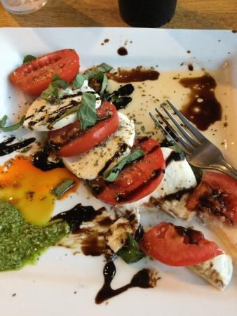 Pisano's Woodfired Pizza: Better than Venice and Rome.  The Caprese salad was amazing. Very very good pizza. Homemade chee