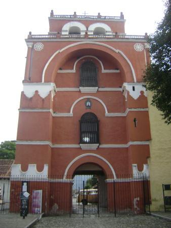 Templo del Carmen: Arco Torre del carmen