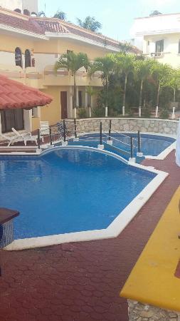 Hotel Vista Caribe: Fotos en la pileta, un hermoso lugar