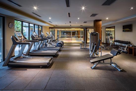 Baoting County, Cina: Fitness Center