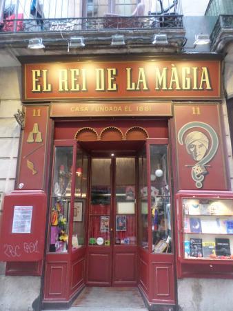 El Rey de la Magia: Devanture de la boutique